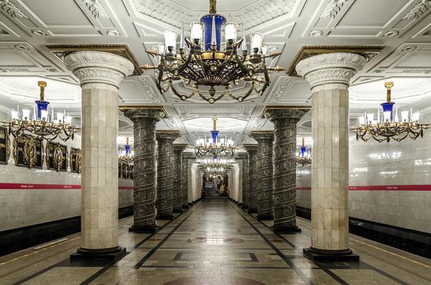 Podziemne dzieła sztuki. Zobacz najpiękniejsze stacje metra na świecie!