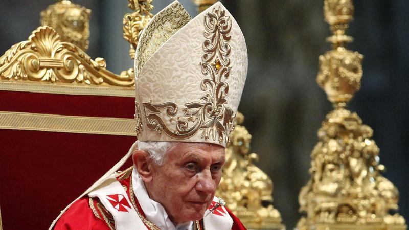 Papież Benedykt XVI, fot. PAP/EPA
