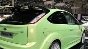 Genewa 2009: Ford Focus RS w blasku fleszy (szczegóły techniczne)