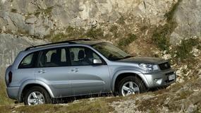 Wybór z renomą: używana Toyota RAV4 II