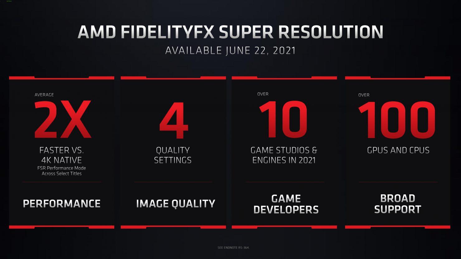 AMD avizuje slušnú podporu technológie už pri jej uvedení.