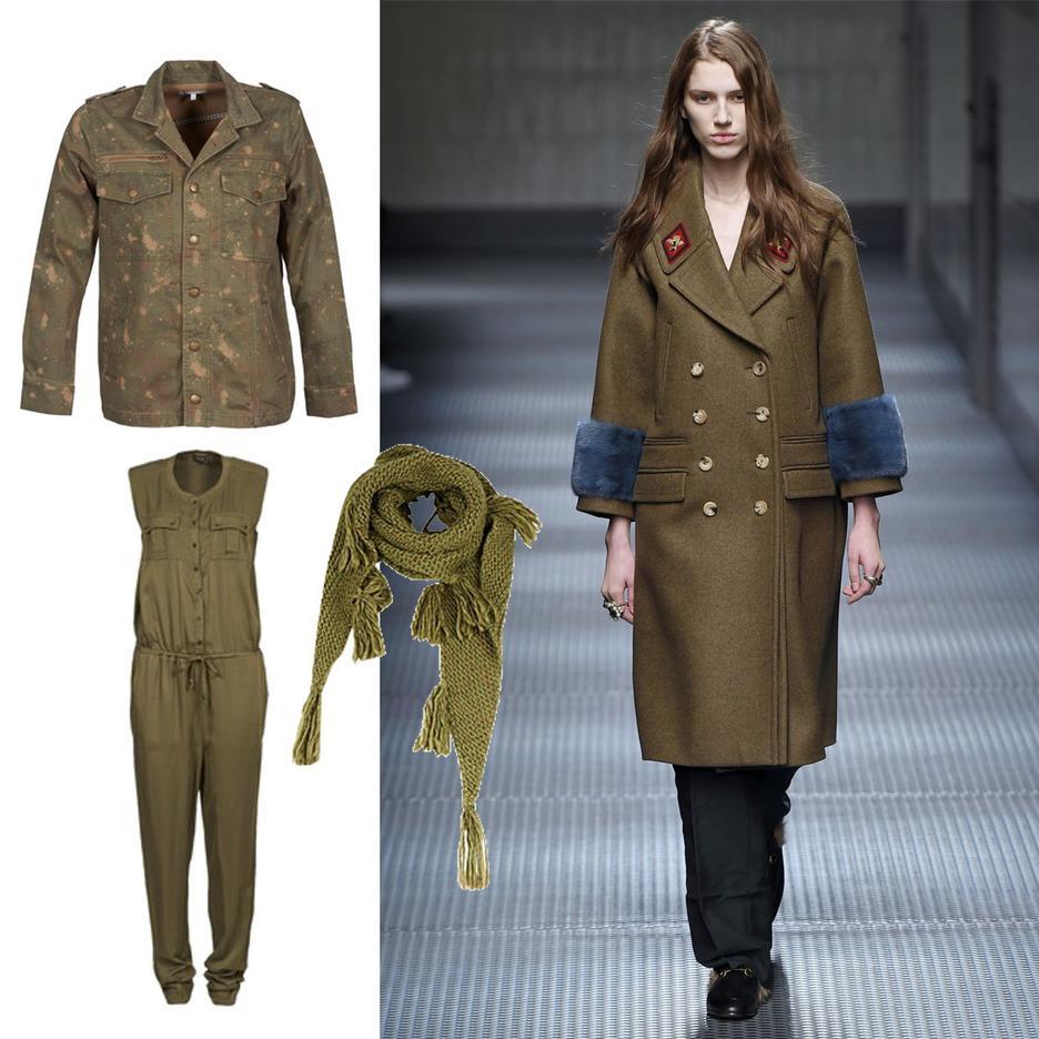 wojskowa moda