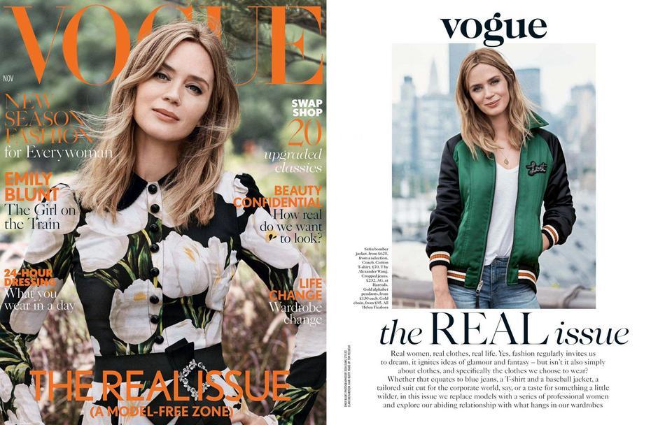 Vogue UK listopad 2016