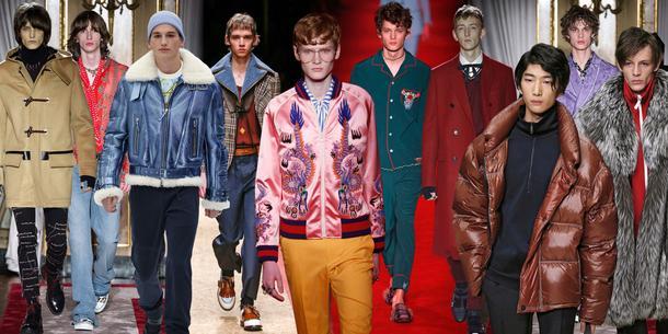 Trendy z wybiegów:  męskie kolekcje jesień - zima 2016
