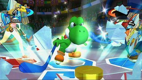 "Screen z gry ""Mario Sports Mix"""