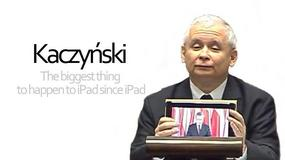 Jarosław Kaczyński z tabletem. Reakcja internautów