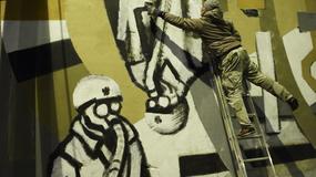 Mural dla poległych stoczniowców