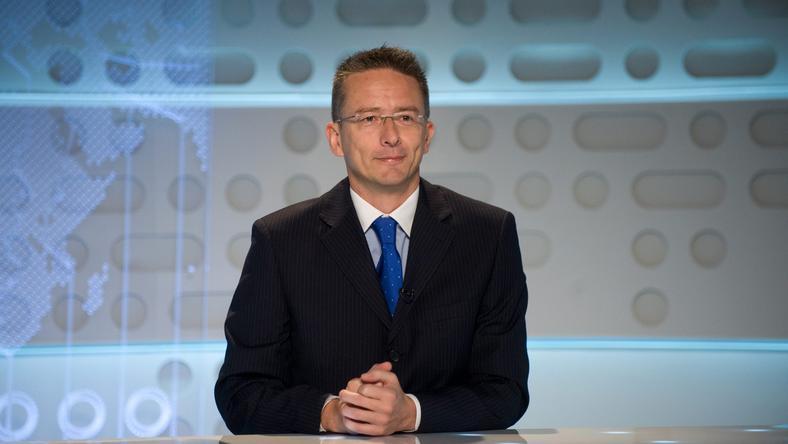 Borsa Miklóst a köztévé híradója miatt támadták meg /Fotó: MTI- Kollányi Péter