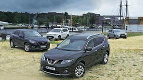 Porównanie: Nissan X-Trail walczy z Mazdą CX-5, Mitsubishi Outlanderem i Subaru Foresterem