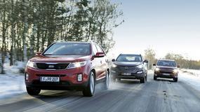 Mitsubishi Outlander kontra Kia Sorento i Hyundai Santa Fe: luksusowe diesle z napędem 4x4