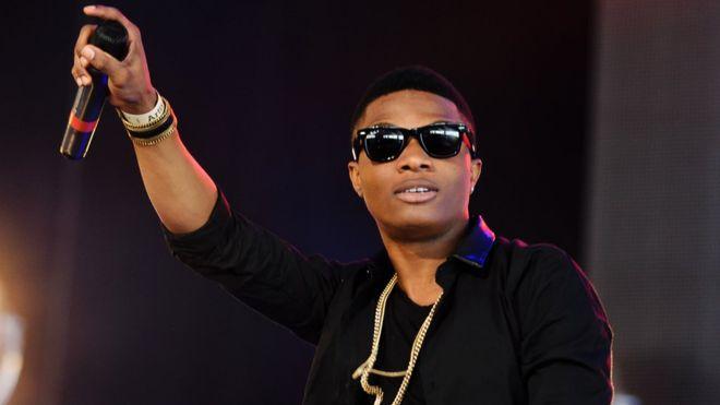 Nigerian popstar, Wizkid