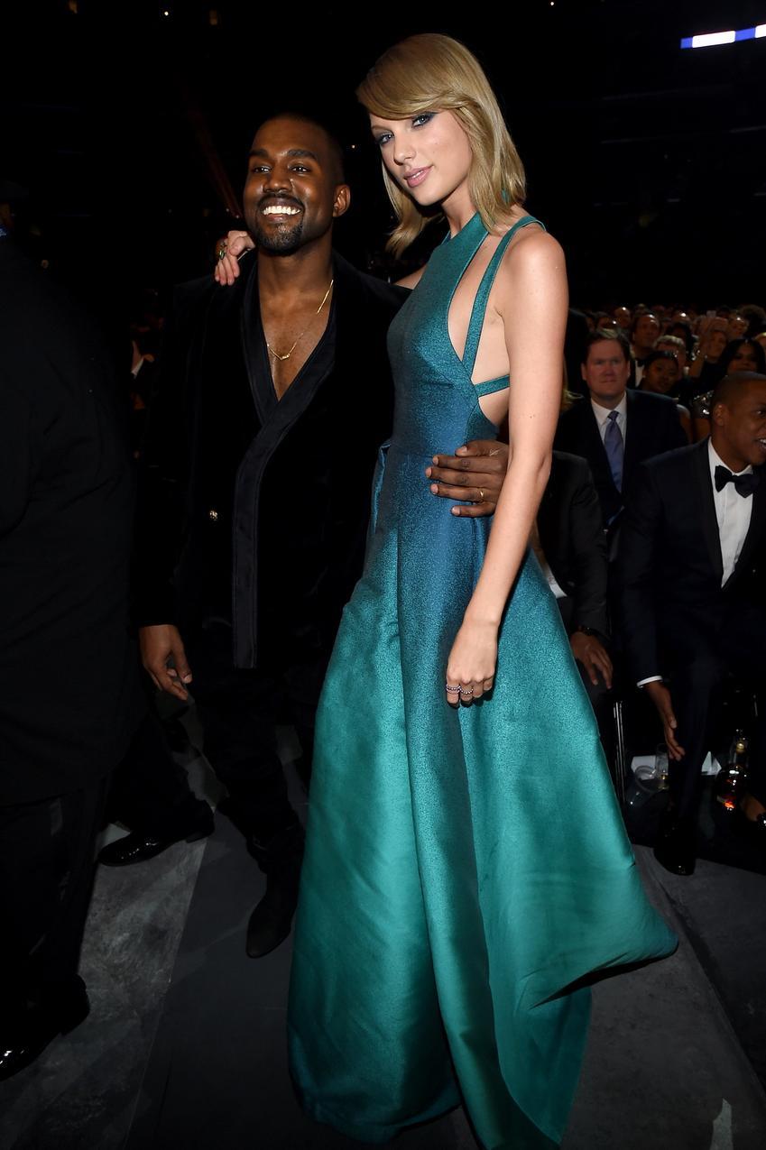 Taylor Swift, Kanye West / fot. Getty Images