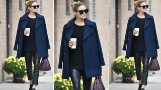 Best Look: Olivia Palermo w płaszczu z Zary