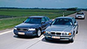 Audi A8, BMW serii 7, Mercedes klasy S - Luksus za grosze?