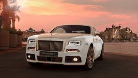 Złoty Rolls-Royce Wright z Mansory