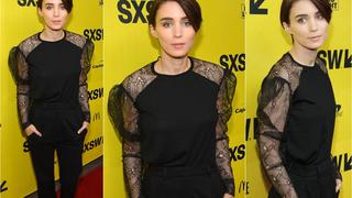Best Look: Rooney Mara w zestawie Saint Laurent