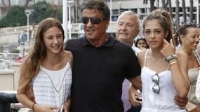Sylvester Stallone chwali się pięknymi córkami