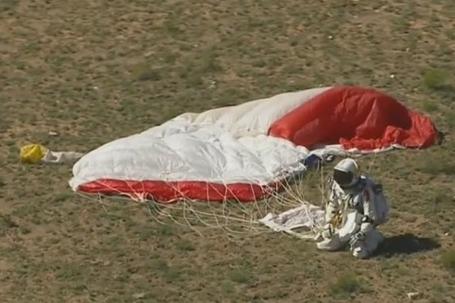 Felix Baumgartner i jego skok z kosmosu