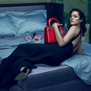 Marion Cotillard w nowej kampanii Dior