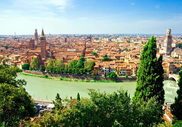 Werona. Najpiekniejsze miejsca Włoch