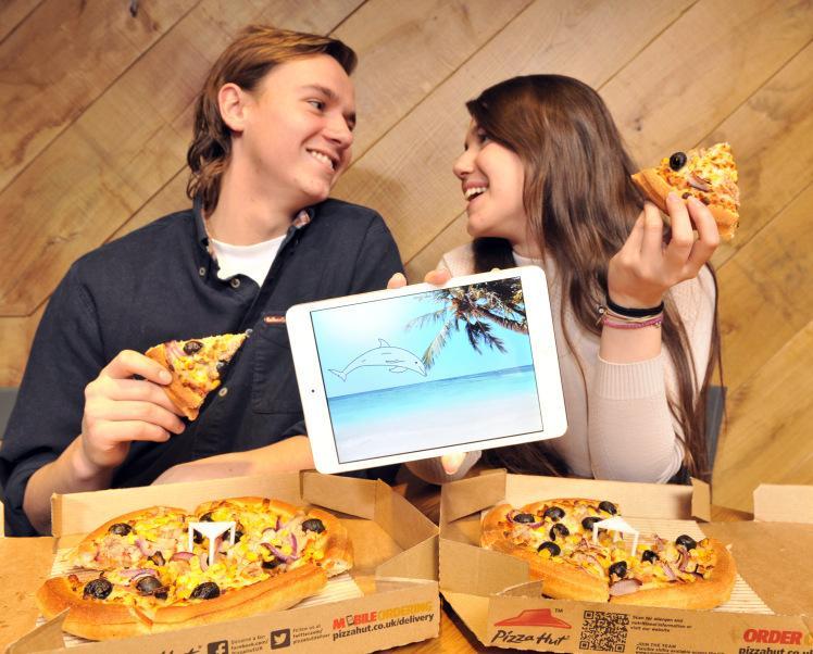 Pizza poprawiająca nastrój