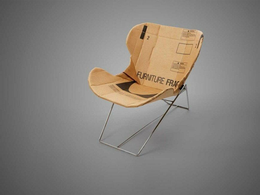 Kartonowe krzesło Dana Goldsteina