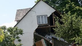 Zniszczenia w Kłodnem