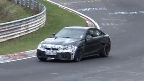 Ćwiczenia podrasowanego BMW M2 na Nurburgringu