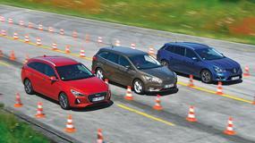 3 x kombi z dieslem: nowy Hyundai i30 kontra Ford Focus i Renault Megane