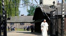Papież odwiedził obóz zagłady Auschwitz-Birkenau. Studio na żywo