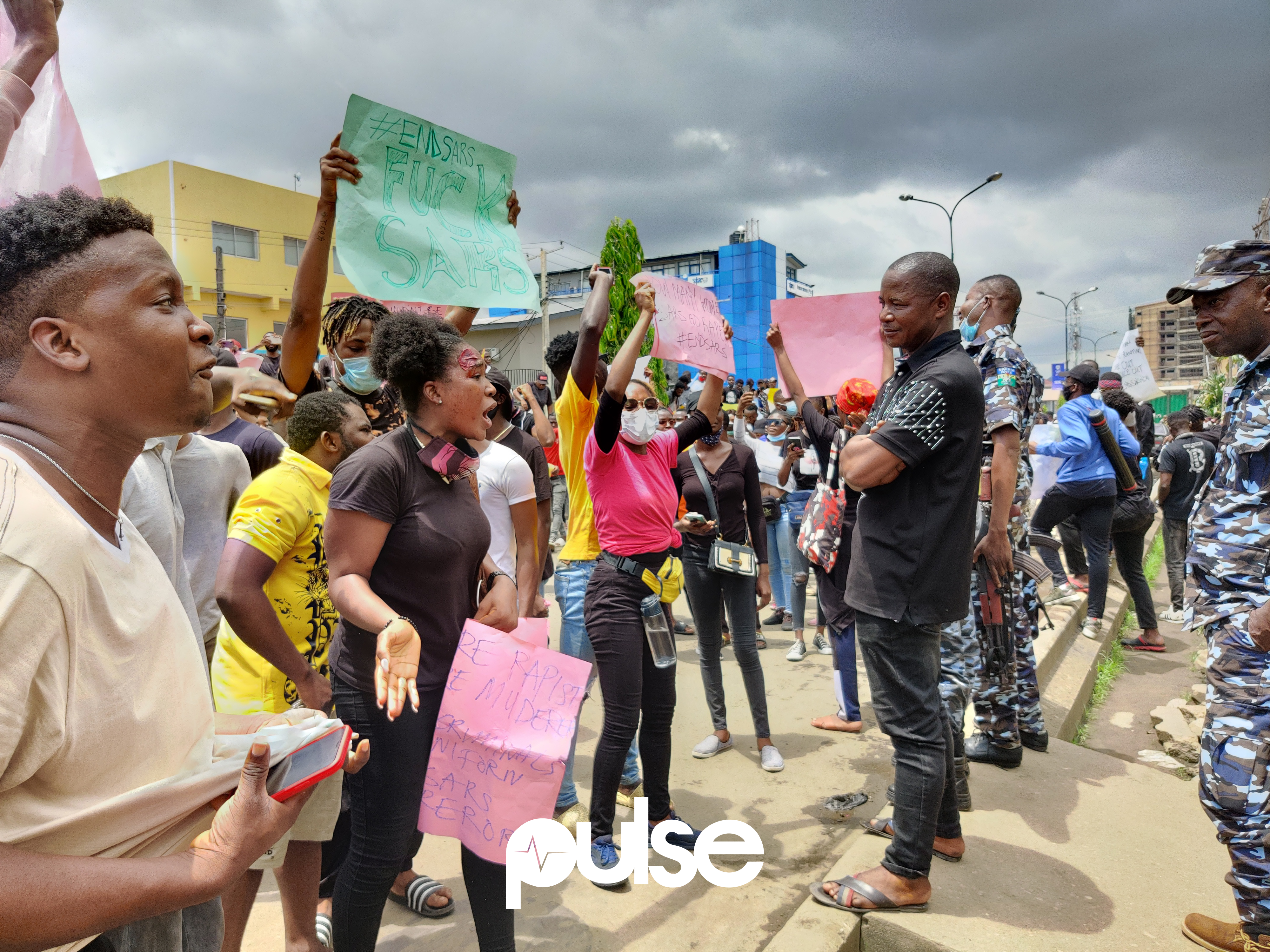 The #EndSARS protests gained prominence nationwide and attracted global attention to the plight of Nigerians