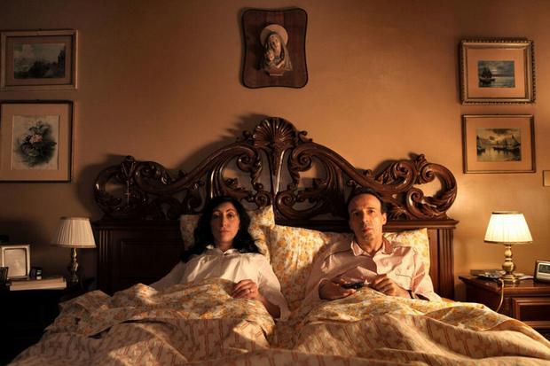 """Kadr z filmu """"Zakochani w Rzymie"""" (reż. Woody Allen)"""