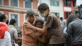 Nepal: Trzęsienie ziemi o sile 7,9 w skali Richtera. Rośnie liczba ofiar