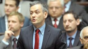 Biedroń: Andrzej Duda to megafon Jarosława Kaczyńskiego