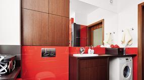Łazienka w odważnych kolorach