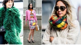 Street style na Fashion Weeku w Nowym Jorku