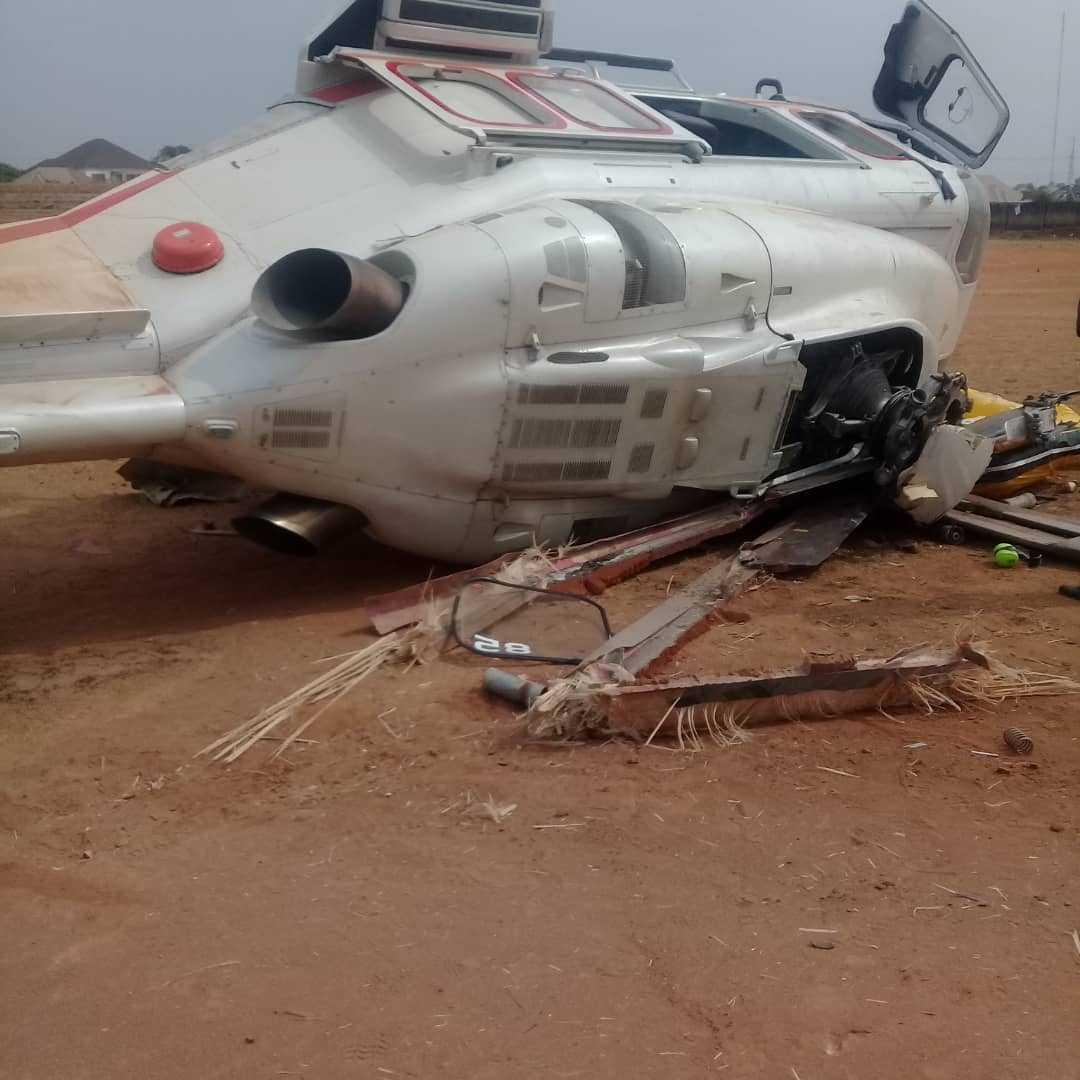 Vice-President Osinbajo's chopper crash-lands in Kogi