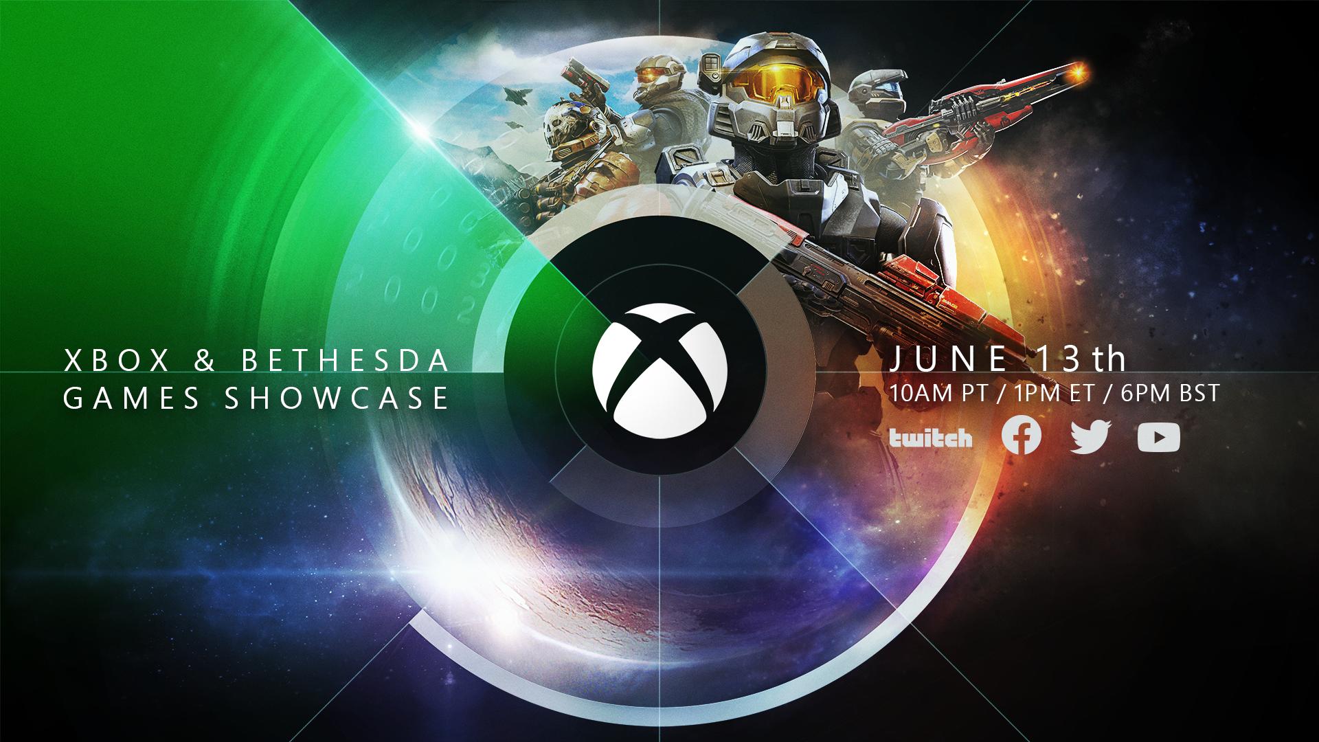 Oficiálny plagát k prezentácii Xboxu a Bethesdy obsahuje odkazy na Halo a Starfield.