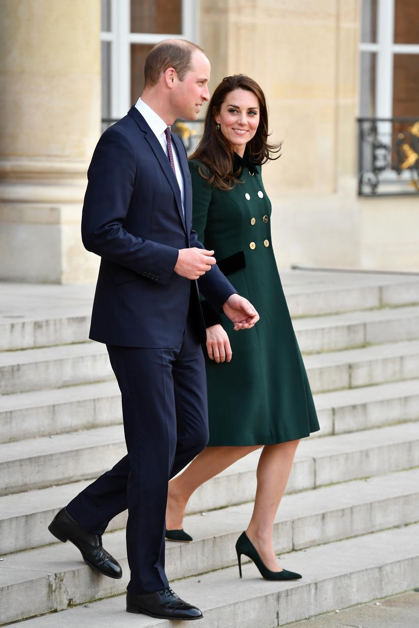 Kate i William podczas oficjalnej wizyty w Paryżu