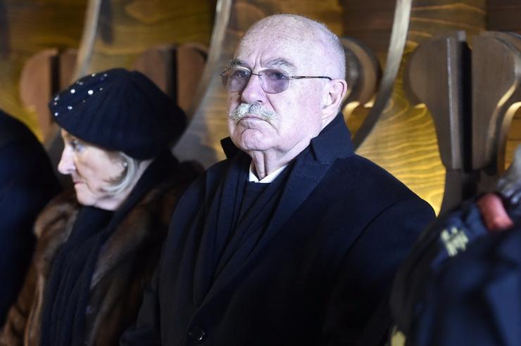 Martonyi János, volt külügyminiszter és felesége / Fotó: MTI Máthé Zoltán