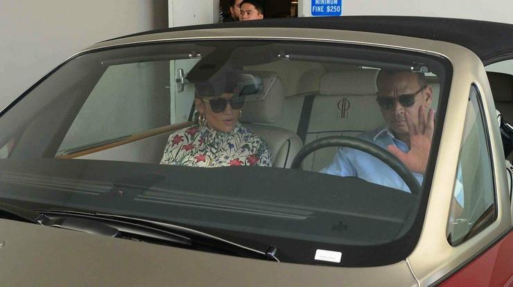 A pár a divattervező Tom Ford-hoz érkezett / Profimedia-Reddot