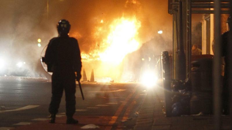 Zamieszki w Londynie, fot. Reuters