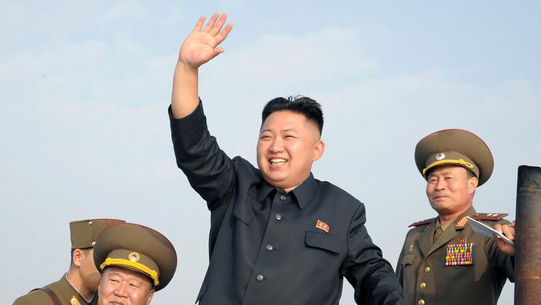 Kim Dzsong Un atomcsapással fenyegette meg az Egyesült Államokat / Fotó: Northfoto