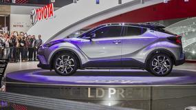 Toyota: crossover C-HR jesienią 2016 w salonach