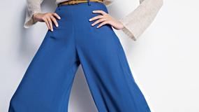 Szerokie spodnie na 4 sposoby