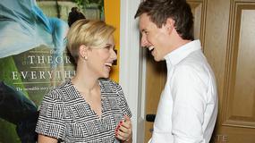 """Scarlett Johansson na pokazie filmu """"Teoria wszystkiego"""" w Nowym Jorku"""