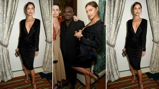 Best Look: Irina Shayk w sukience Lanvin