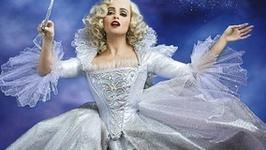 """""""Kopciuszek"""": Helena Bonham Carter jako wróżka na plakacie"""