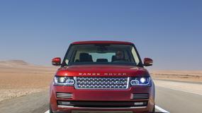 Range Rover z nowym silnikiem