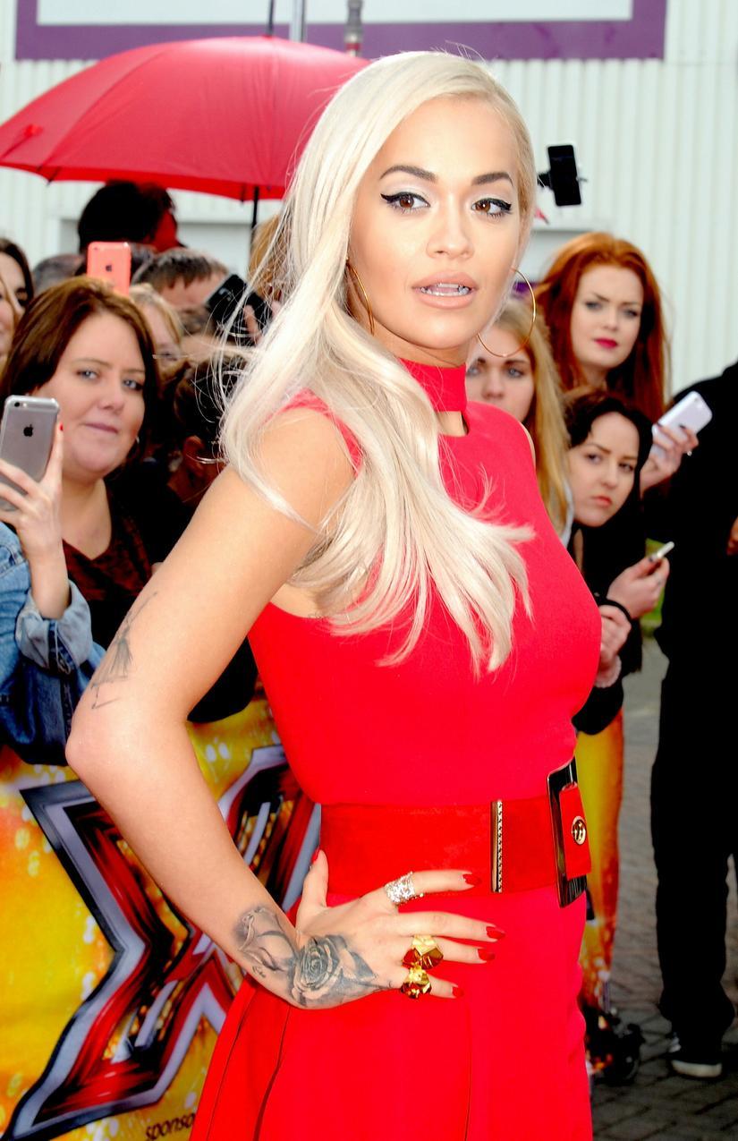 Rita Ora w Versace